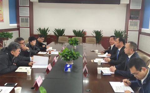 湖北省侨联领导会见海外侨领喻鹏、邝远平、刘纯清一行